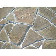 Натуральный камень песчаник серо-зелёный 20ММ фото