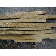 Натуральный камень песчаник серо-зеленый соломка фото