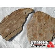 Камень сланец коричневый фото