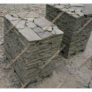 Камень-пластушка 1,5 см серо-зеленый фото