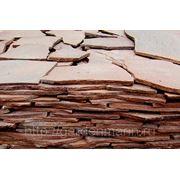 Камень природный Песчаник облицовочный красный толщина 1,5 см фото
