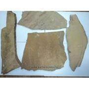 Камень пластушка 1.5, 2, 3, 4 см серо-коричневый фото