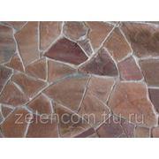 Натуральный камень песчаник красный 30ММ фото