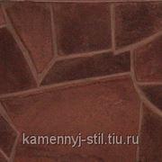 Песчаник шоколад Хакасия 30-40мм фото