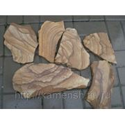 Камень природный натуральный песчаник пластушка фото