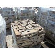 Обрезь камня 2-5 см (+-5мм) бежево-коричневый фото