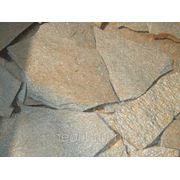 Натуральный природный камень Серицит, плитняк сланец 10-15 мм фото