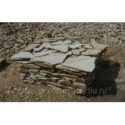 Белый песчаник фото