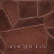 Песчаник шоколад Хакасия 20-30мм фото