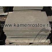 Плитка из песчаника 3,5-4 см (+-5мм) Цвет: серо-зеленый (Размер: 60х100) фото