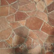 Песчаник пластушка красная (термообработанная) фото