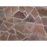 Натуральный камень песчаник красный 20ММ фото