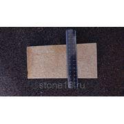 Плитка из желто-белого песчаника,толщина 15-20 мм фото
