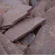 Песчаник красный Хакасия 40-60мм фото