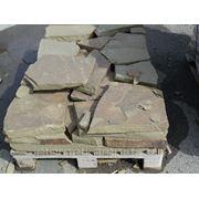 Плитняк серый (серо-зеленый) 60-70мм фото