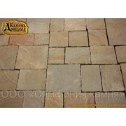 Староанглийский тротуарный камень фото
