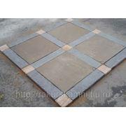 Патио из камня квадратное фото