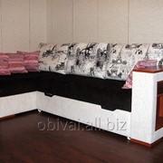 Перетяжка обивки мягкой мебели, ремонт, реставрация фото