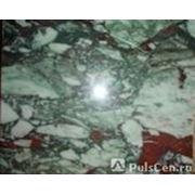 Мрамор Пуштулимский бело розовый фото