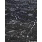 Мрамор черный Александровский фото