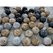 Шары из камня (травертин, мрамор, оникс, гранит и др.) фото