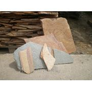 Камень природный для облицовки и мощения ЗЛАТОЛИТ. фото