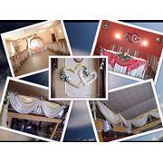 Оформление зала и авто на свадьбу фото