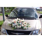 Оформление свадебной машины Катрин фото