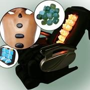 Массажная кровать-кресло с нефритом RK 31-01 RestArt фото