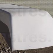 Автомобильное Радиопрозрачное укрытие из стеклопластика фото