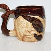 Чашка сувенирная пират 610 фото