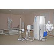 Оснащение медицинским оборудованием. фото