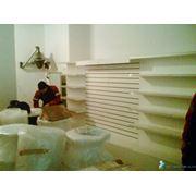 Монтаж-демонтаж магазинов и торгового оборудования фото