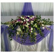 Оформление торжеств цветами фото