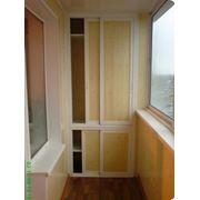 Шкафы-купе для балконов фото