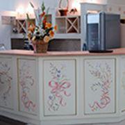 Дизайн интерьера художественная роспись потолков стен мебели фото