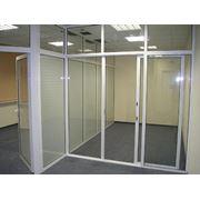 Производство офисных перегородок. фото