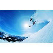 Прокат горные лыж фото