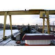 Капитальный ремонт подкрановых путей для козловых и башенных кранов фото
