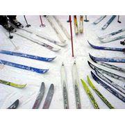 катание на лыжах фото