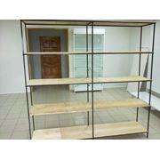 Производство металлических стеллажей для подсобного помещения гаража и дачи фото