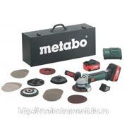 Аккумуляторная угловая шлифмашина metabo w 18 ltx 125 inox 600174870 фото