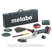Аккумуляторный шлифователь угловых сварных швов metabo kns 18 ltx 600191870 фото