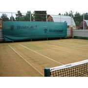 Укладка теннисных покрытий фото