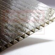 """Сотовый поликарбонат Borrex бронза """"колотый лед"""" """"Premium"""" 6000х2100 мм, 6 мм с односторонней защитой от УФ, гарантия 10 лет. фото"""