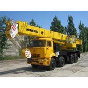 Услуги (аренда) автокрана 25 32 50 80 120 тонн в Волгоградской обл. и ближайших регионах фото