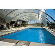 Установка павильонов над бассейнами фото