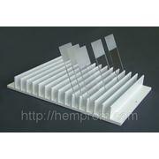 Штатив для сушки мазков на 168, 112 и 56 стекол (алюминевый эмалированный) фото