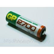 Аккумуляторы GP AA, 2700mAh, NiMH фото