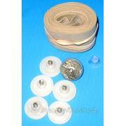 Комплект электродов круглых с ремнями для РЭГ фото
